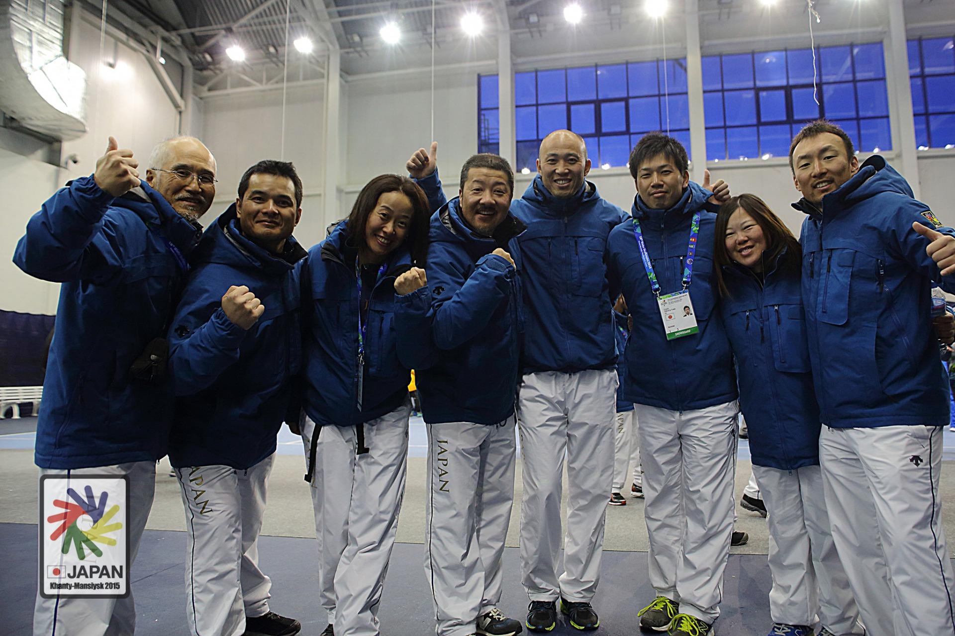 帝京平成大学津賀裕喜助教がデフリンピック大会にアスレティックトレーナーとして参加し、選手のサポートを行う