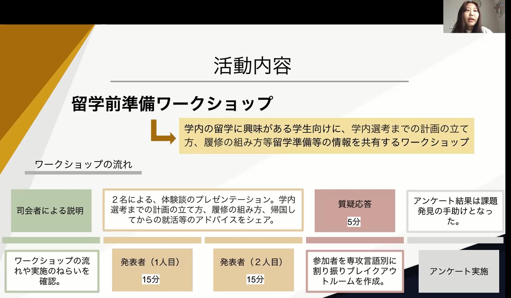 神田外語大学(KUIS)学生による国際交流活動「KUISグローバルアンバサダー」 第一期報告会・修了式を実施