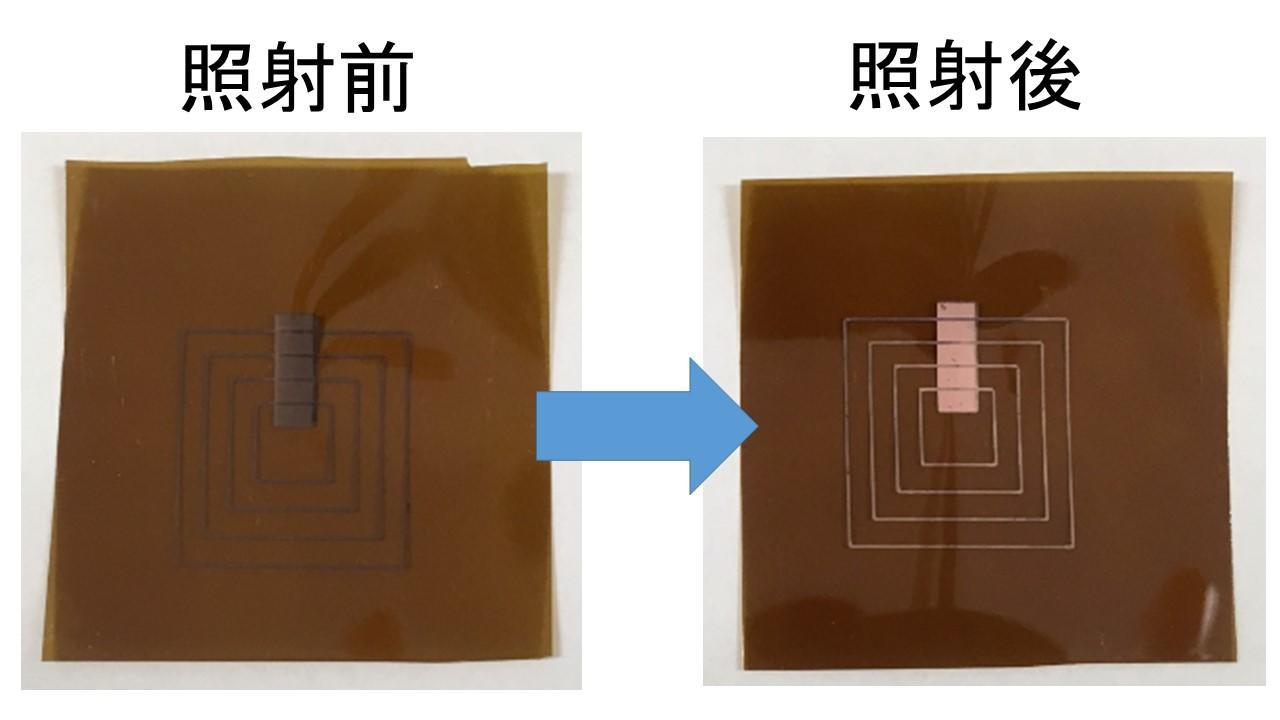 レーザー照射するだけで簡単に有機樹脂フィルムに銅配線が形成できる技術を開発~高コスト設備が不要で電子回路・デバイスの新製造プロセス構築へ~芝浦工業大学