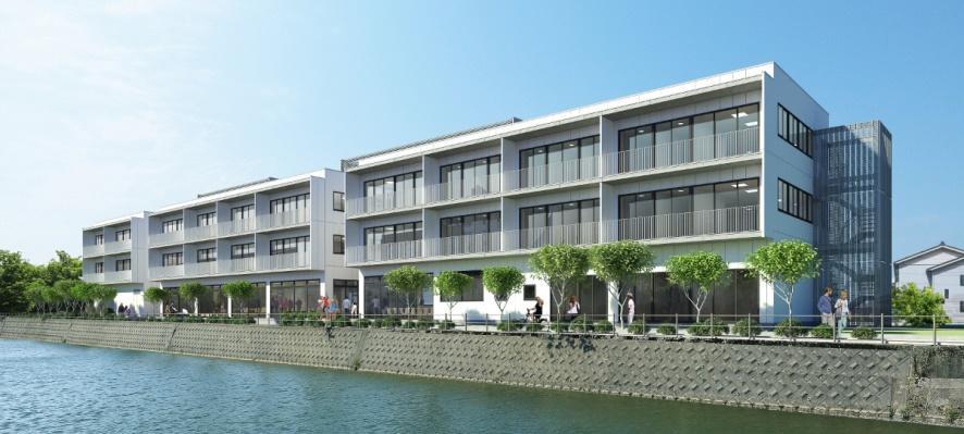 金沢工業大学の国際交流の拠点「KIT国際交流会館」が完成。