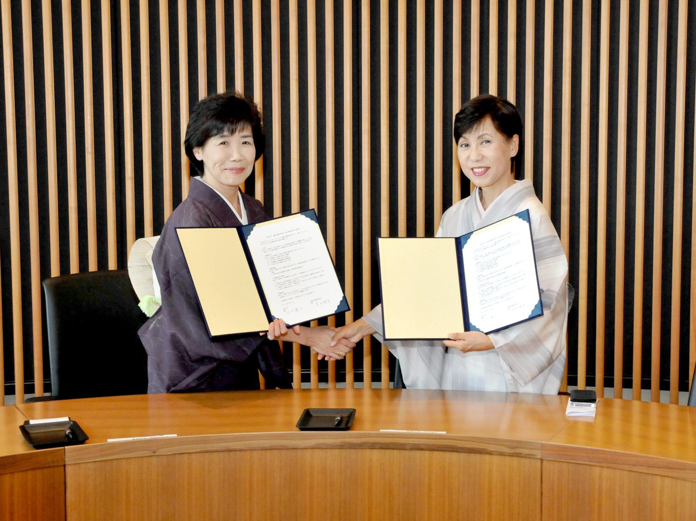 法政大学と三輪田学園が高大連携に関する協定を締結