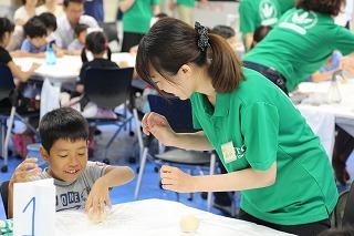どぼじょ(土木系女子学生の会)による体験教室を開催 -- 8月22日、関東学院大学で