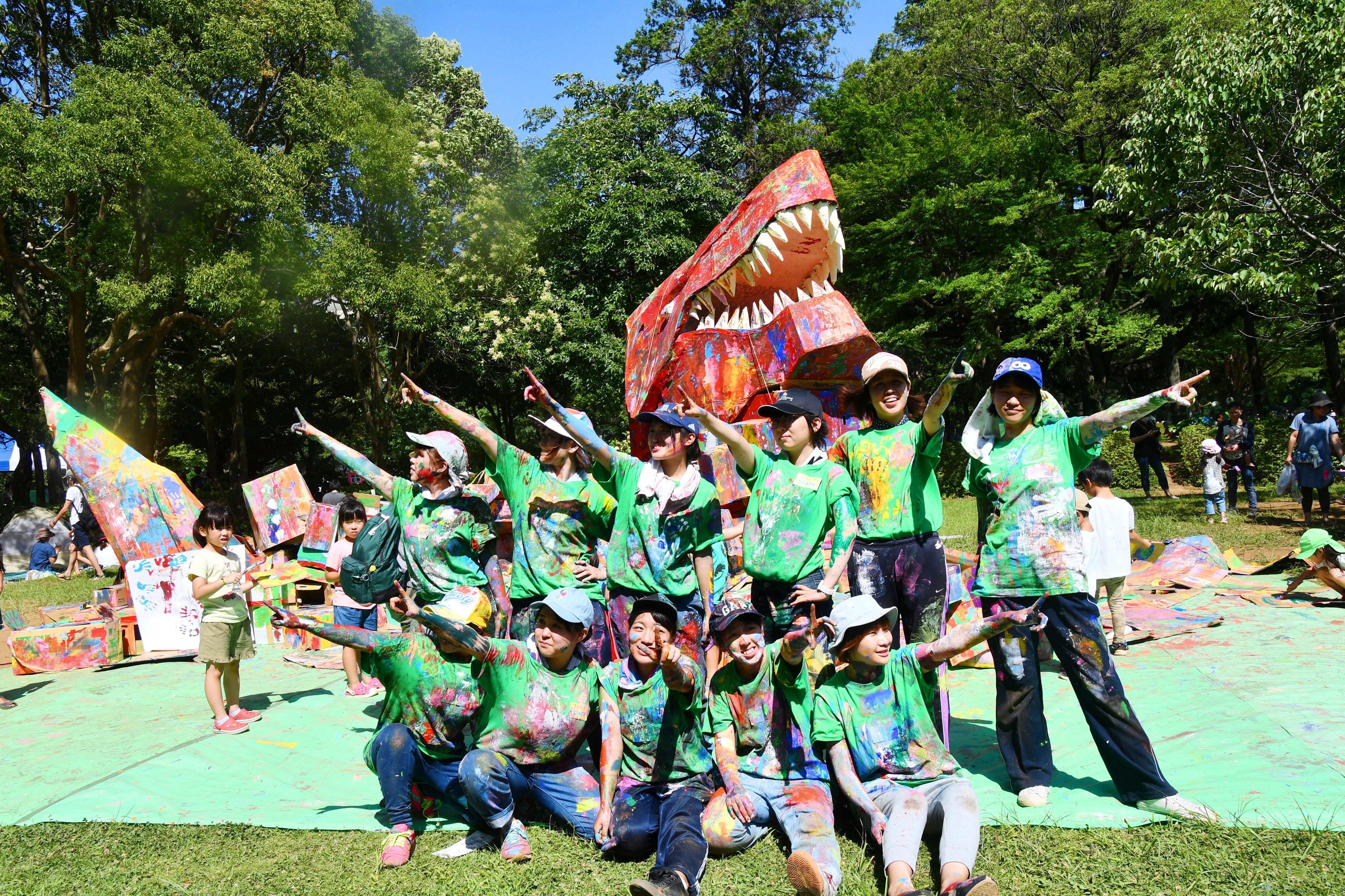 聖徳大学が7月7日に親子向けのイベント「アートパーク12~伝説のこども魂~」を開催 -- 大人も子どもも''こども魂''を発揮して思い切り遊ぼう!