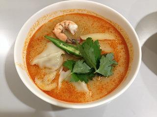 学生が企業と共同開発した減塩効果のある「花まつも麺」を学食で提供 -- 東洋大学