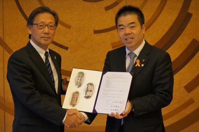 龍谷大学と滋賀県が包括協定を締結