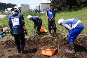 神奈川大学の東日本大震災被災地支援活動「KU東北ボランティア駅伝」は、震災から5年となる現在も、支援の襷をつなぎ続けている