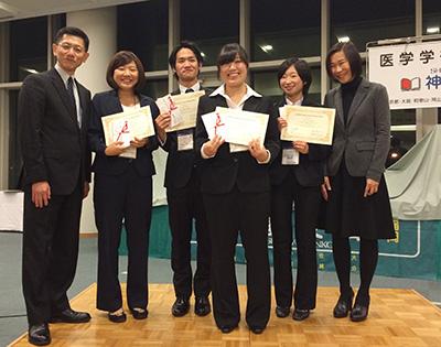 昭和大学の学生がジョセフ・リスター賞を受賞