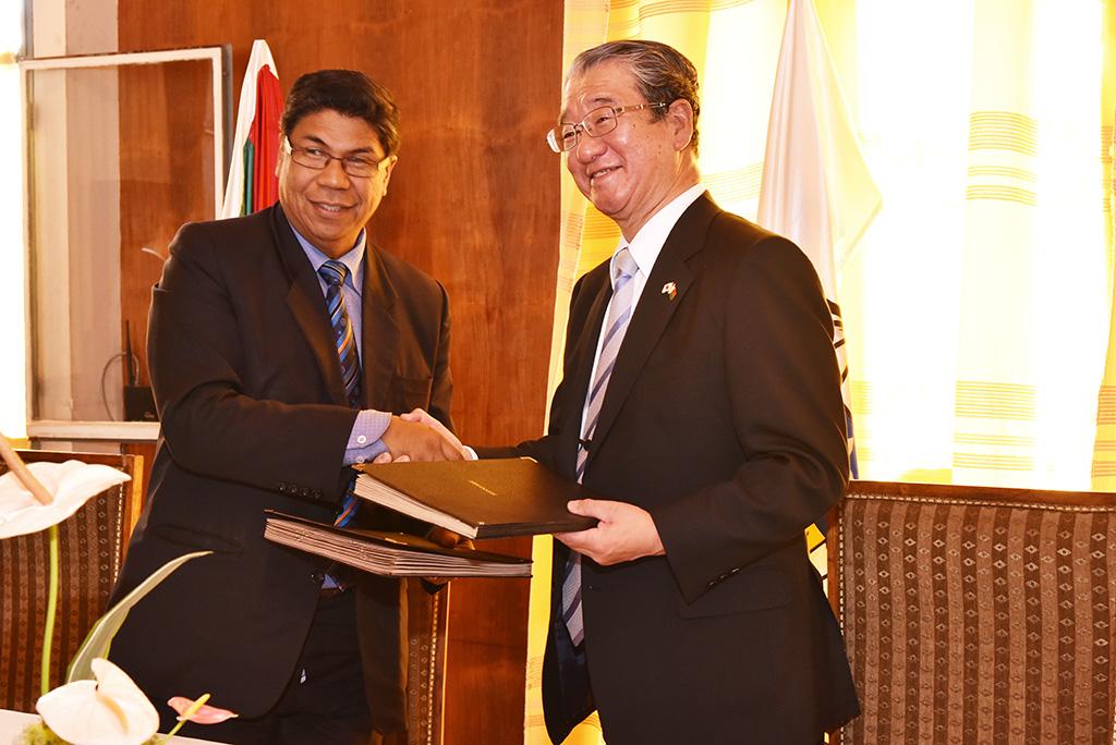 昭和大学がアンタナナリボ大学と医学部間協定を締結