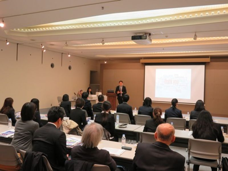 杏林大学が2月16日にマレーシア大使館および三菱商事MCフォレスト訪問ツアーを実施
