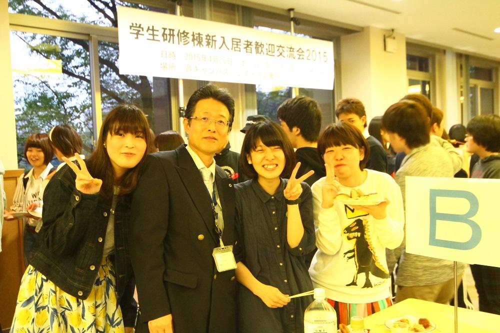 学生寮の新入寮生対象の歓迎イベントを開催 -- 広島国際大学