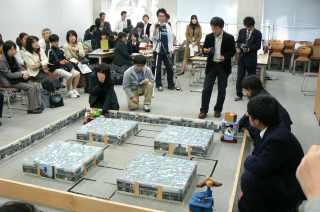 東洋大学理工学部が「川越まつり 山車ロボットコンテスト2009」を開催