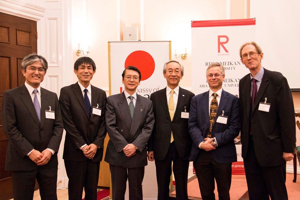 立命館大学が在英日本大使館と共催し、世界的研究者との国際シンポジウムを開催