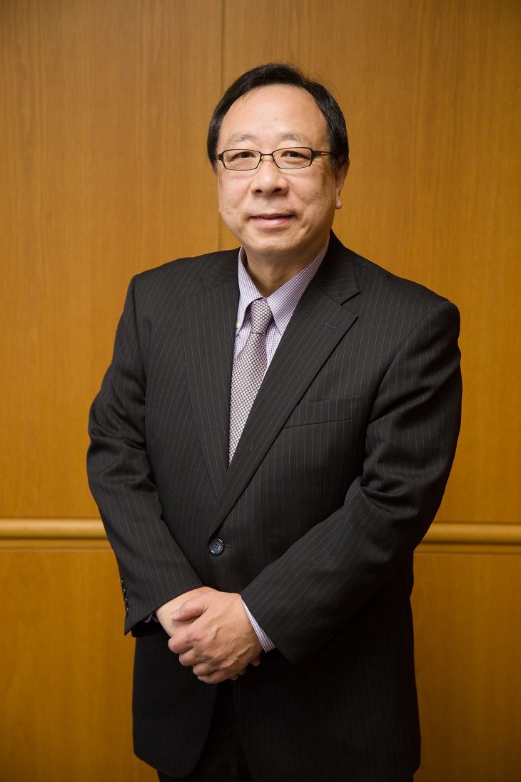 4月1日、立正大学の新学長に齊藤昇教授(文学部)が就任