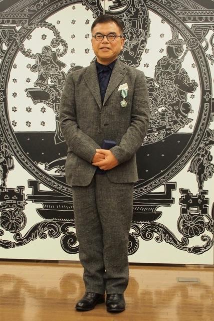 学習院女子大学日本文化学科の清水敏男教授がフランス芸術文化勲章「シュヴァリエ」を受勲
