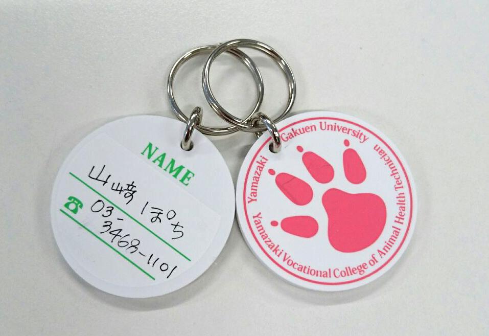 熊本地震における被災動物の支援として、飼い主とペットを繋ぐ迷子札を提供 -- ヤマザキ学園大学