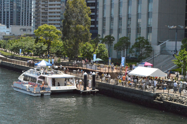 涼風さわやかな豊洲運河を楽しむ「初夏の船カフェ」を5月30日から期間限定開催 -- 芝浦工業大学