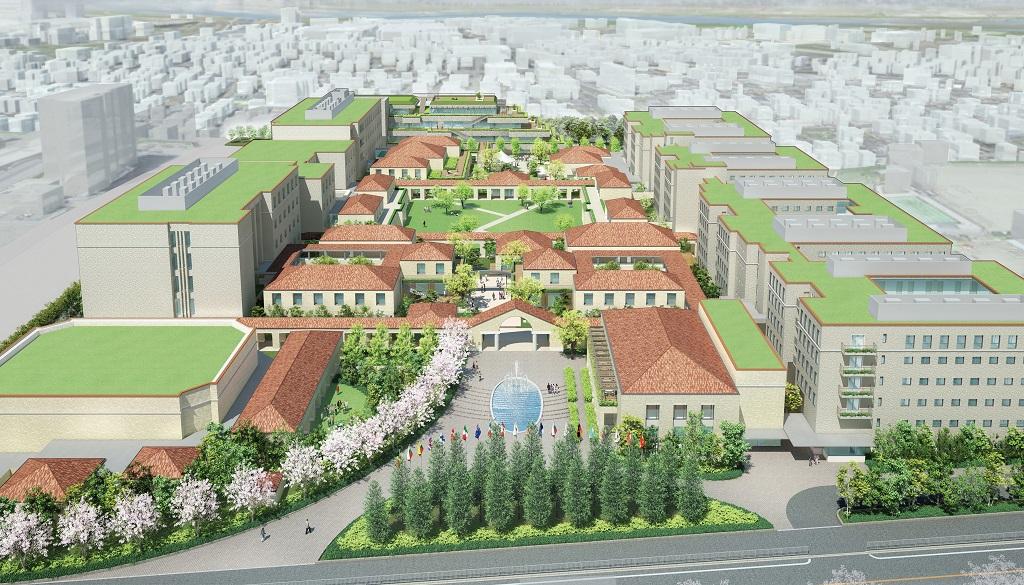 関西外国語大学の新キャンパスの名称が「御殿山キャンパス・グローバルタウン」に決定