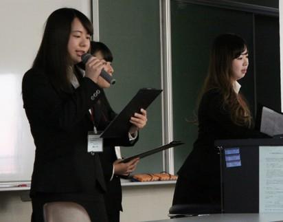 武蔵大学が7月9日に企業のCSR報告書作成を課題とした「三学部横断型ゼミナール・プロジェクト」の最終報告会を開催