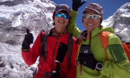 「エベレスト・ローツェ登頂報告会」を開催 -- 夢をかなえた東京経済大生