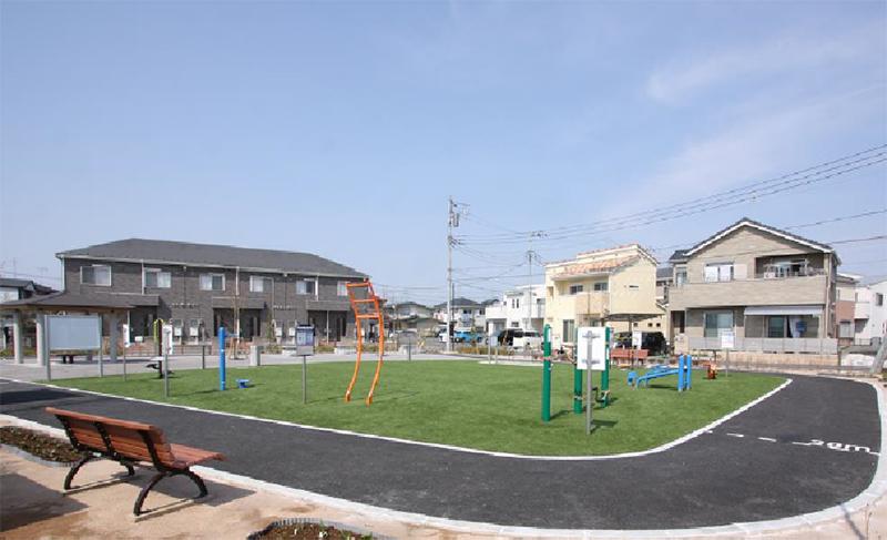 芝浦工業大学 -- 学生参加の公園整備計画~上尾の「フィットネスパーク」が完成~8つの計画中3つ目はお年寄りの健康促進を目的に