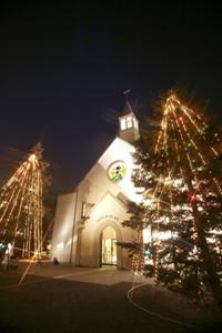 桃山学院大学がクリスマスムードに大変身――11月30日に「イルミネーション点灯式」を開催