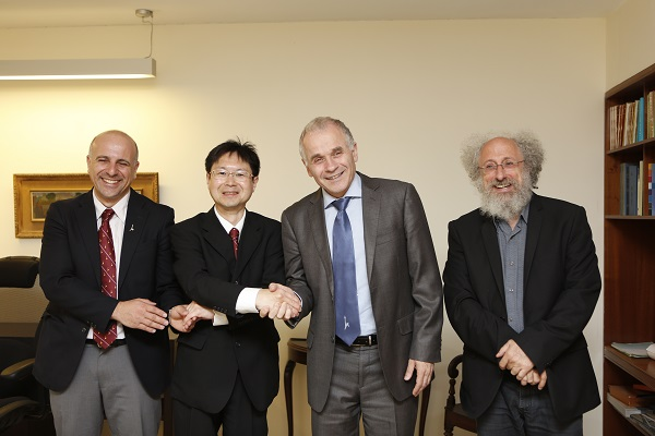 イスラエルのエルサレム・ヘブライ大学と包括協定締結 -- 関西外国語大学