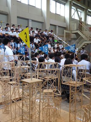 崇城大学が9月24日に第6回「つまようじタワー耐震コンテスト 高校生大会」を開催 -- 講演会「熊本地震と耐震建築」も同時開催