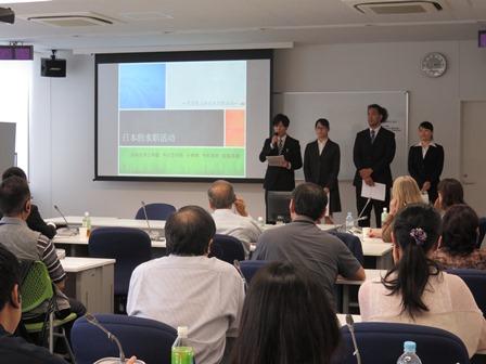 9月10日 第7回グローバルシンポジウム「日中の学生協働によるゼミ交流・研究発表」を開催 -- 杏林大学