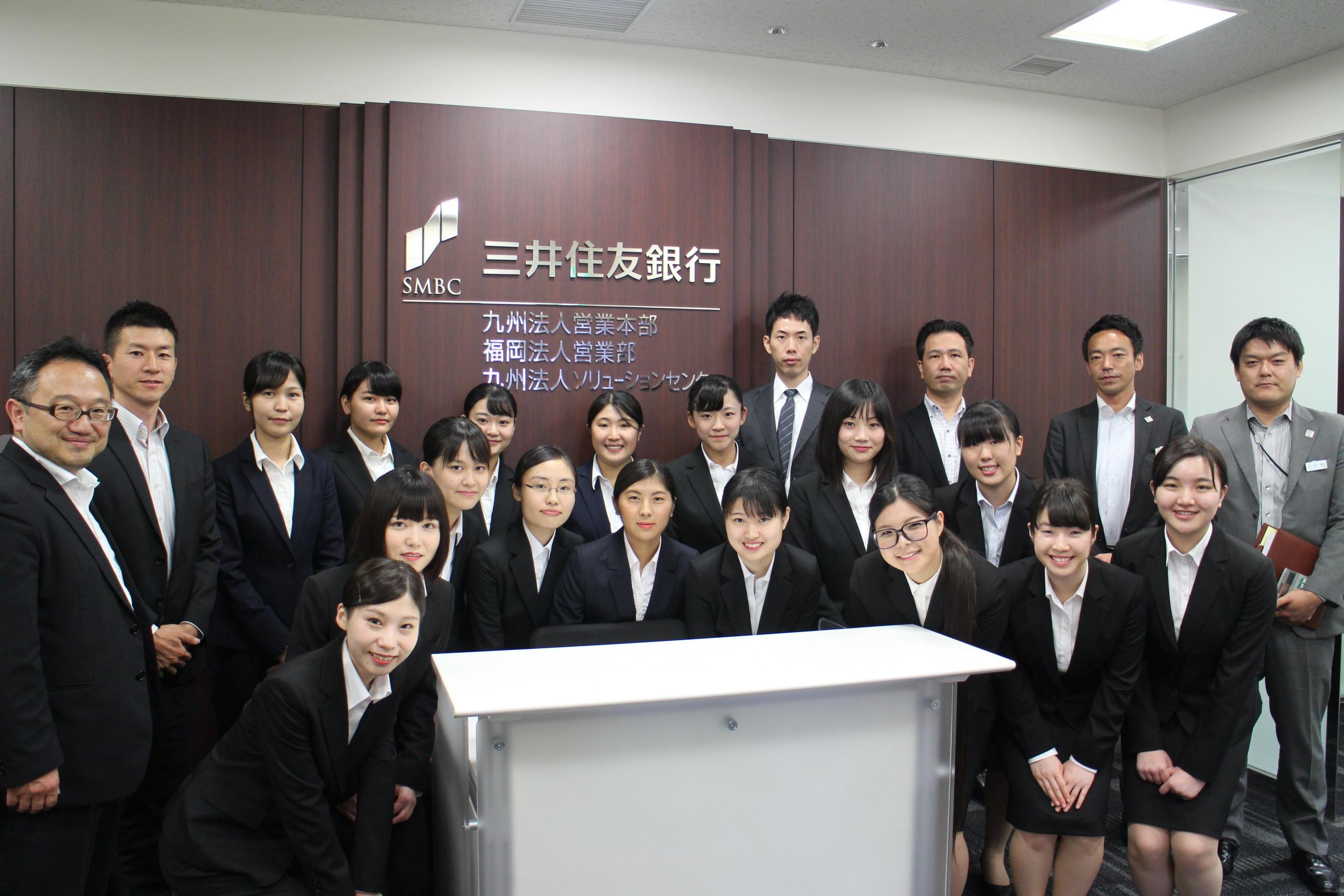 ≪三井住友銀行×福岡女学院大≫ 女子大生がデビットカードの普及に取り組む!