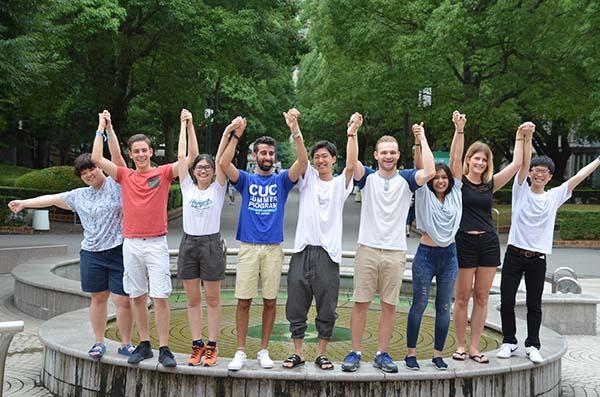 千葉商科大学の学生たちが海外11カ国・地域18大学の学生をサポート -- 「2018 CUC Summer Program」開催