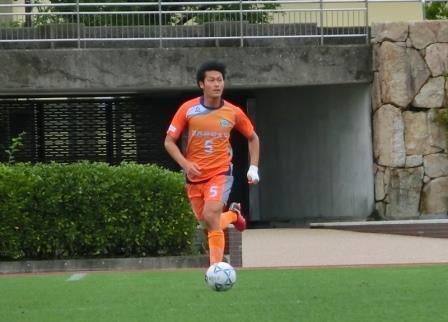【関西福祉大学】サッカー部  中島 大雅選手がU-20 全日本大学選抜メンバーに選出されました