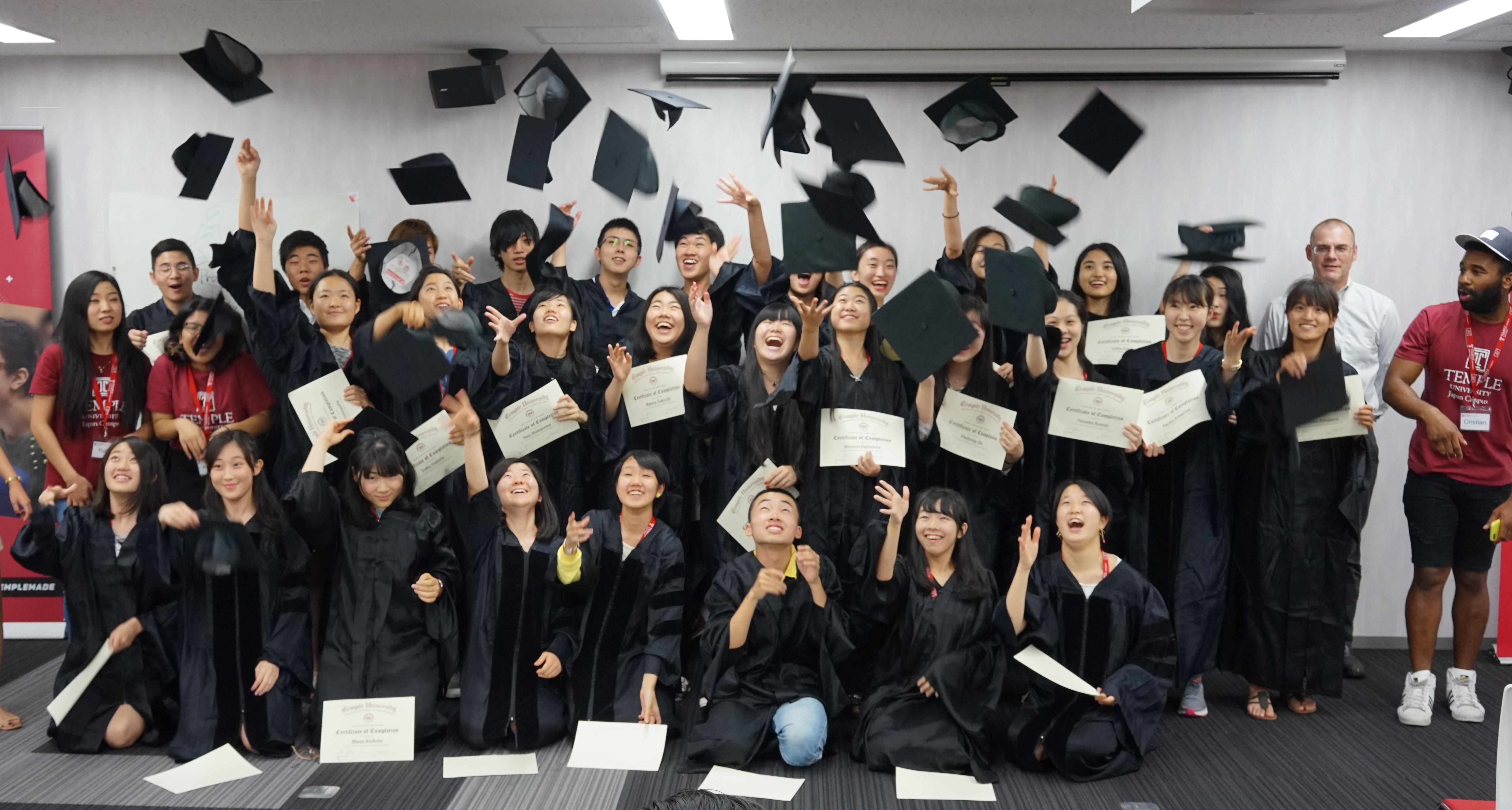 「100%英語漬け」--- 夏休みはTUJで小中高校生向け国内留学 --- テンプル大学ジャパンキャンパス