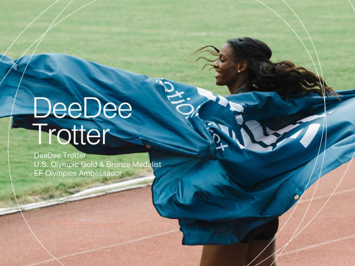 神田外語大学でアメリカ陸上界のスーパースター、ディーディー・トロッター(DeeDee Trotter)氏による講演会を開催 -- 膝の故障から返り咲いた彼女の「挑戦する心」を英語で語る