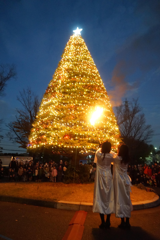 埼玉県内唯一のキリスト教大学 聖学院大学クリスマスツリー点火祭 11/28開催 ~創立30周年・地域に開かれた大学としての歩みを覚えて~