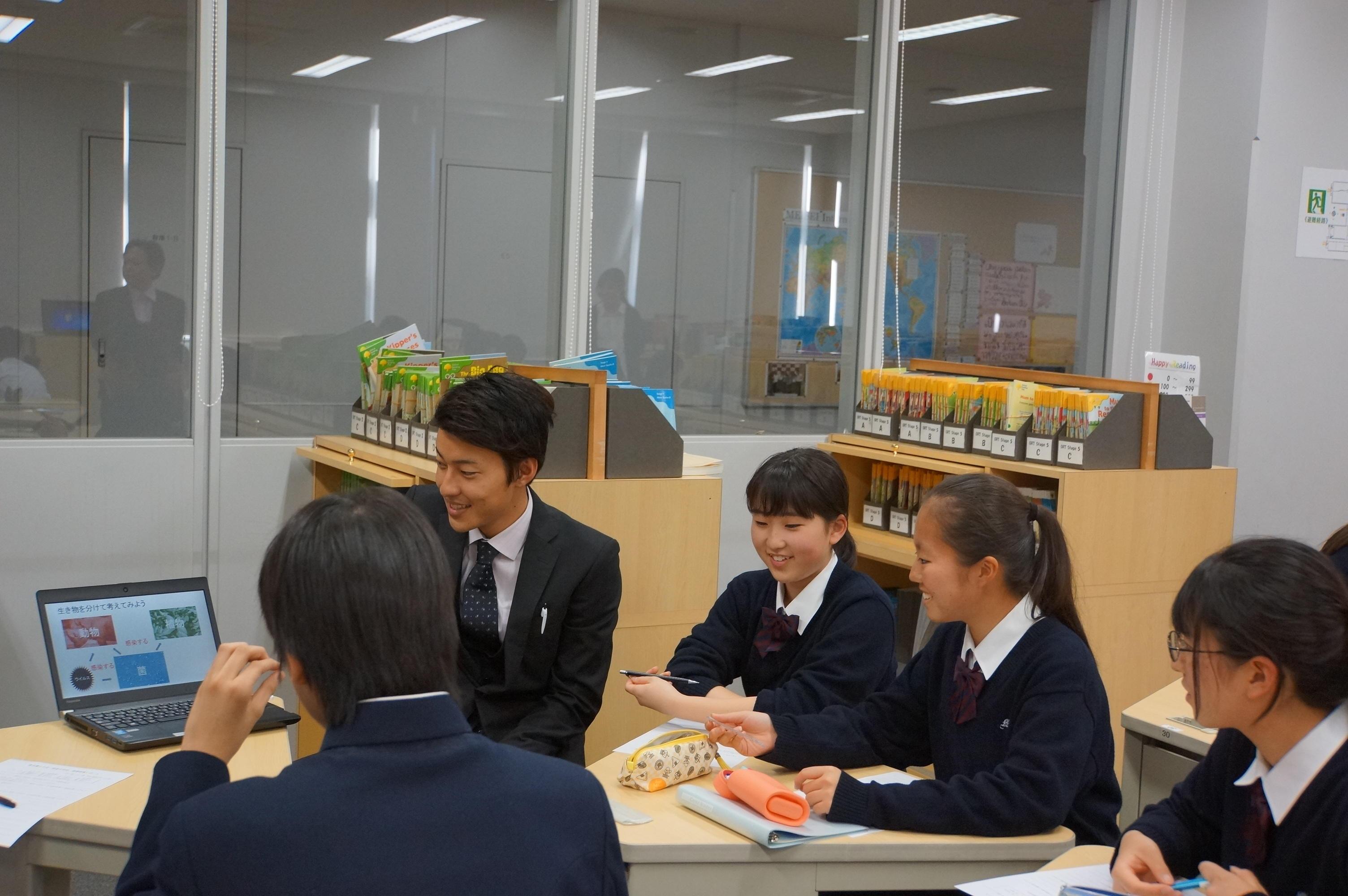 明星中学校と東京農工大学がキャリア教育の一環として連携授業を実施 ~大学4年生の卒論テーマを聞き、中学生が学びへの意識を高める -- 明星中学校・高等学校
