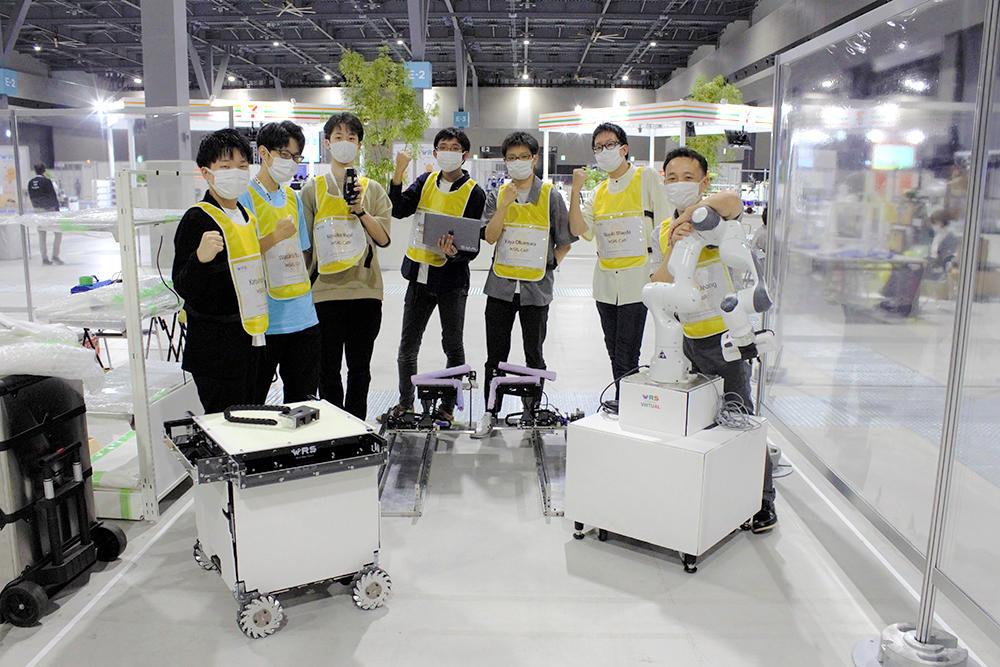 大阪電気通信大学 電子機械工学科の鄭研究室がWorld Robot Summit in Aichiに出場 -- トイレ清掃タスク4位・接客タスク4位に入賞