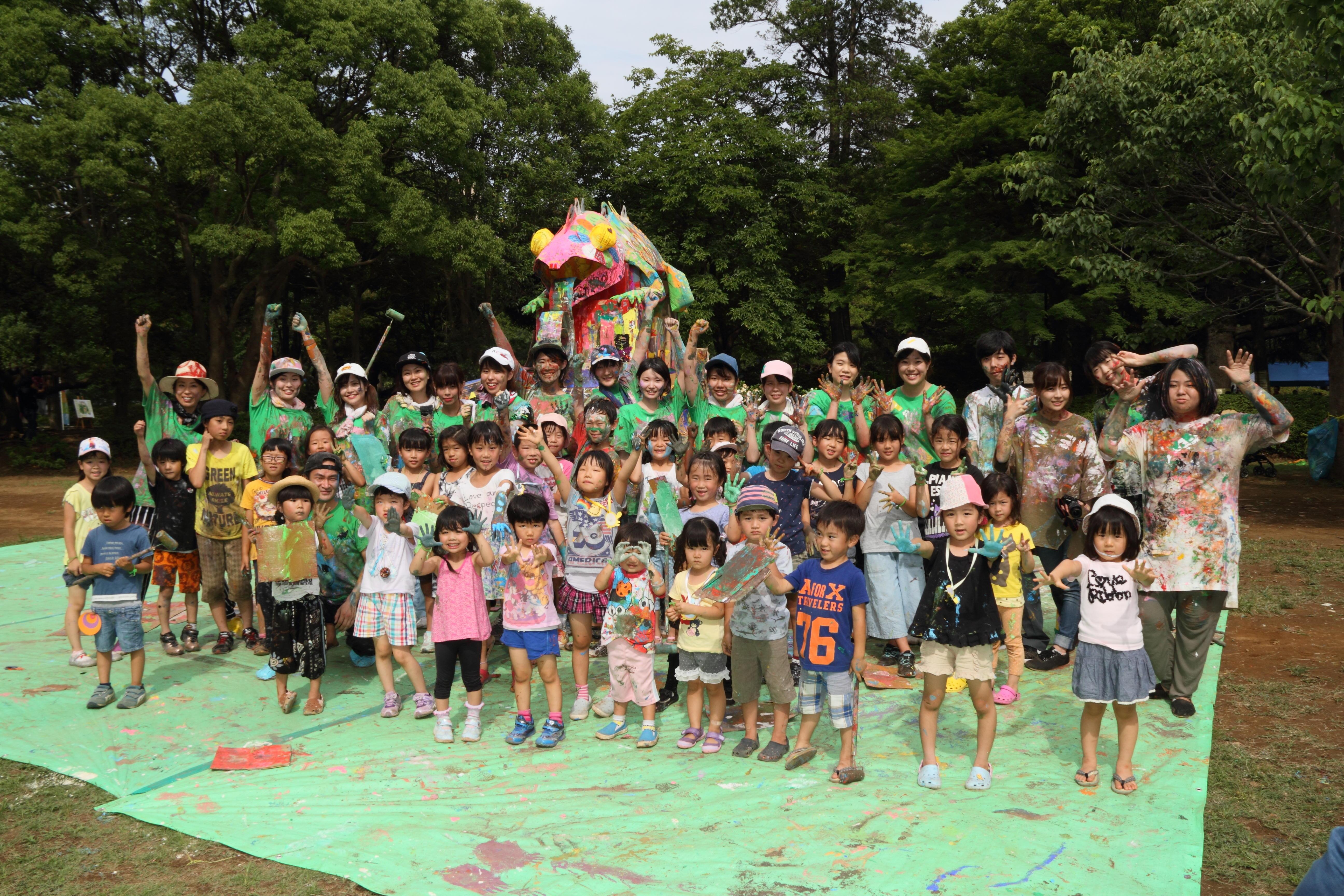 聖徳大学が7月1日に子ども向けのイベント「アートパーク11 まつどパラレルワールド」を開催 -- 公園全体がアートで遊ぶ空間に変身!