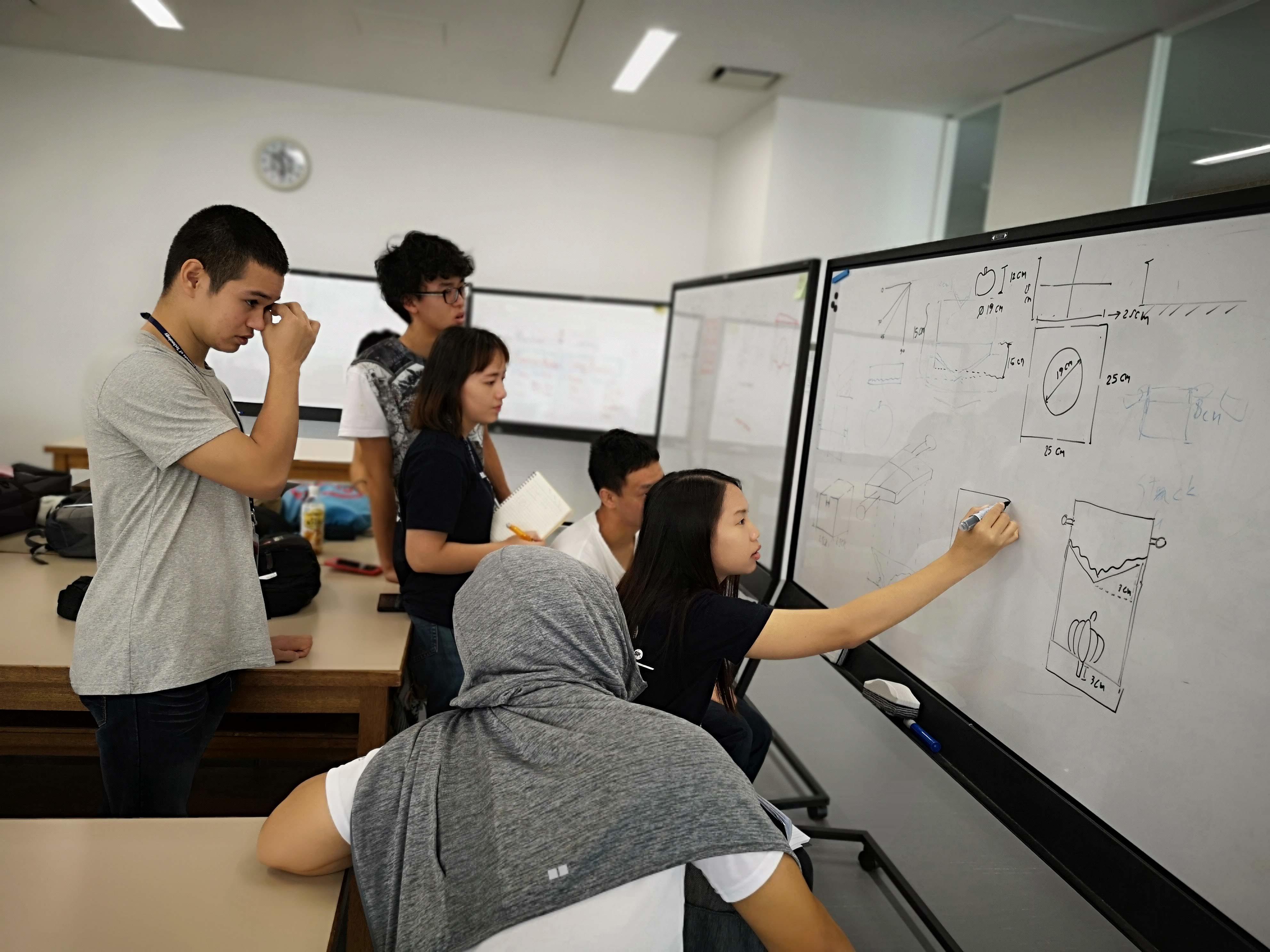 【学生が企画・実施】金沢工業大学の学生がアジアの学生とオンラインで多国籍チームを組み、社会に実在する問題に当事者の立場になって解決に取り組む