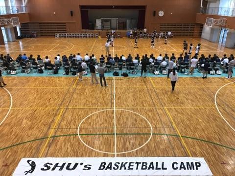 Shu's Basketball Camp 2018の開催 -- 帝京平成大学