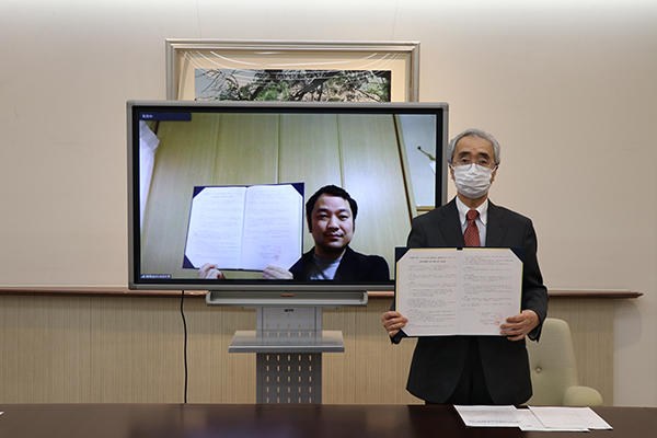 千葉商科大学と株式会社アスノオト(さとのば大学)が地域で活躍する人材育成のため連携協定を締結