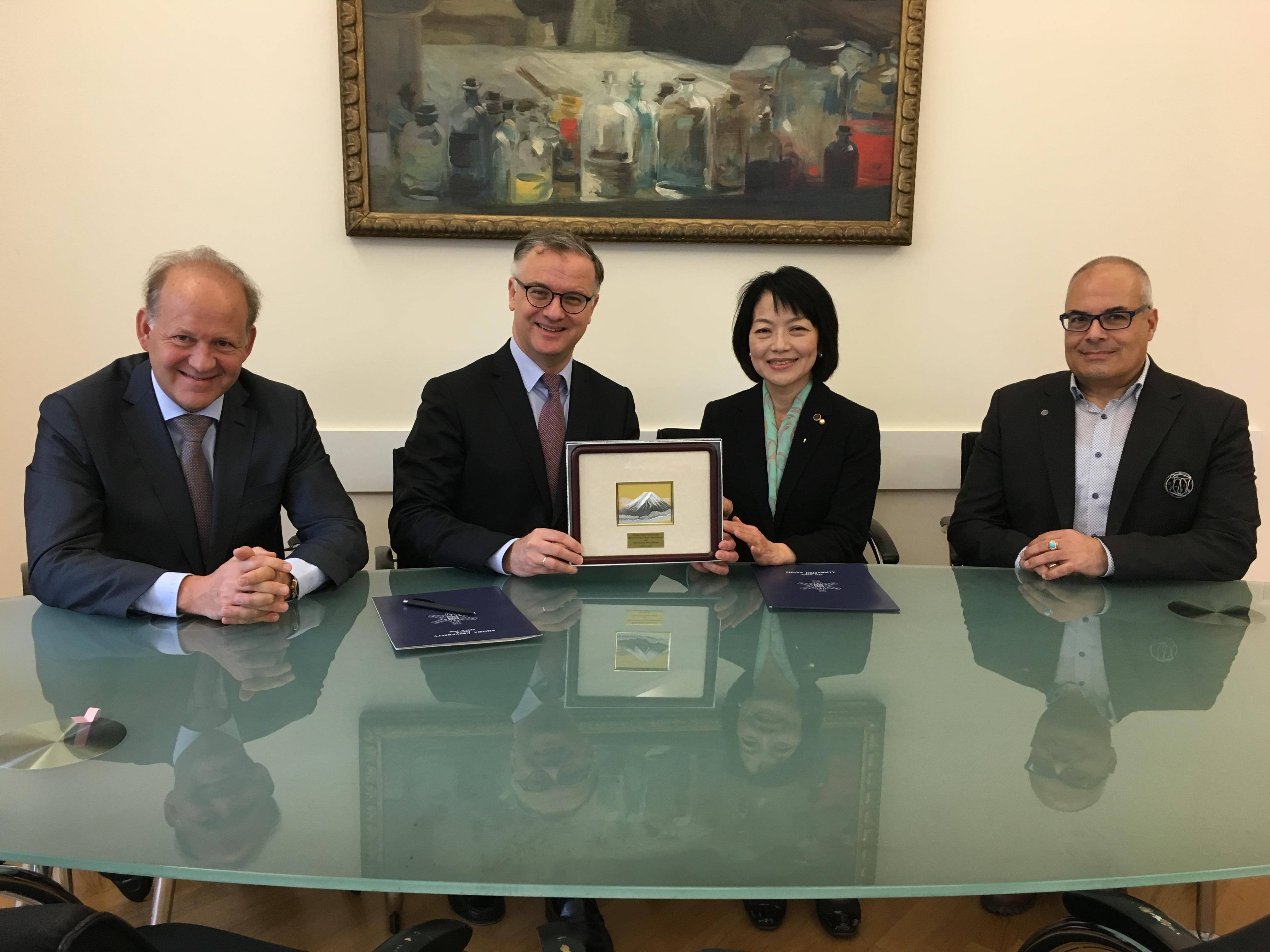昭和大学がウィーン医科大学と歯学部間協定を締結 -- 医学部に続き、歯学部でも交流がスタート