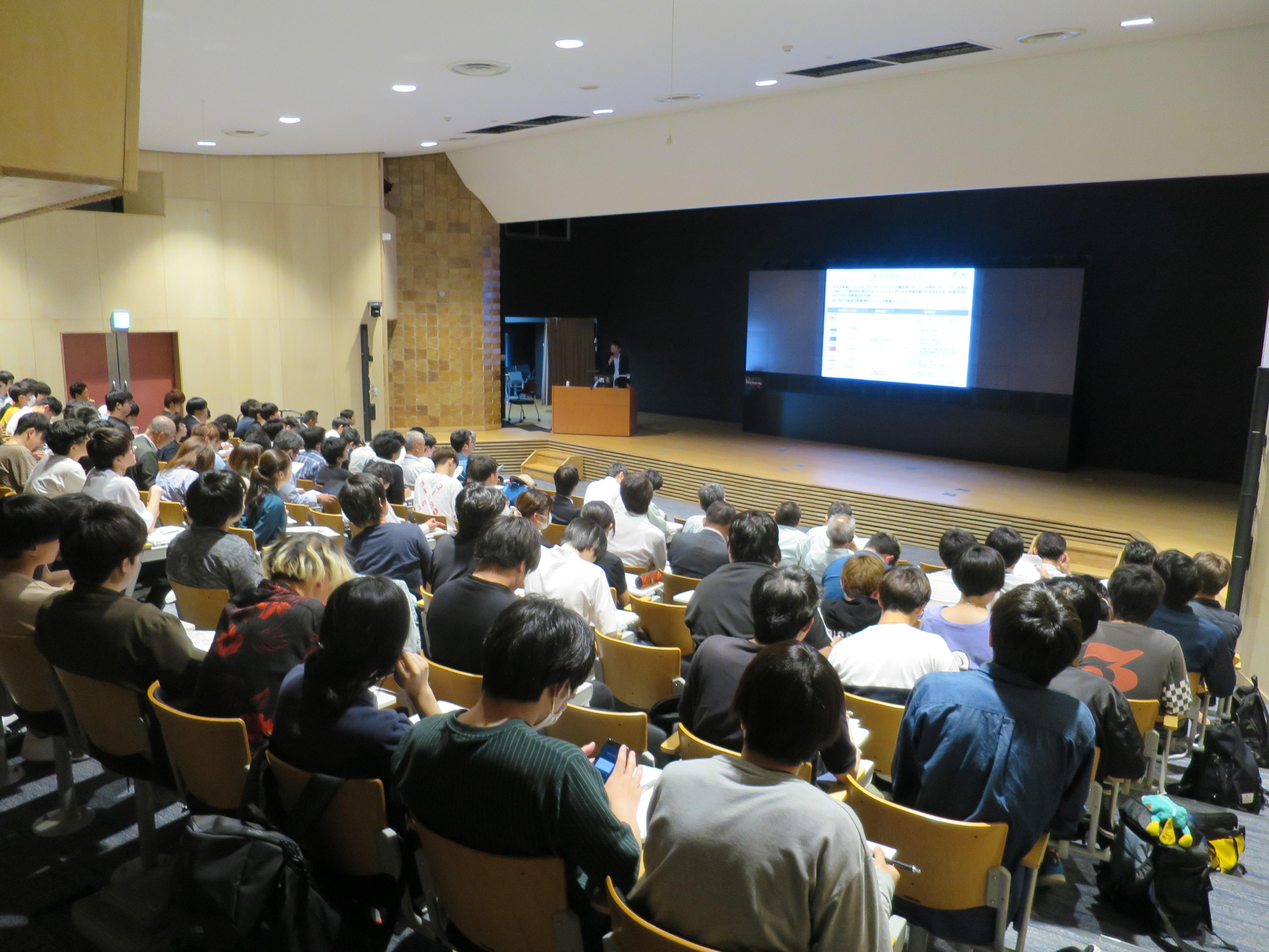 MEGA地震予測で知られる村井俊治東京大学名誉教授による特別講演「地象リモートセンシングによる地震予測」など講演4件を実施。「令和元年度 第2回空間情報セミナー」を開催。 -- 金沢工業大学