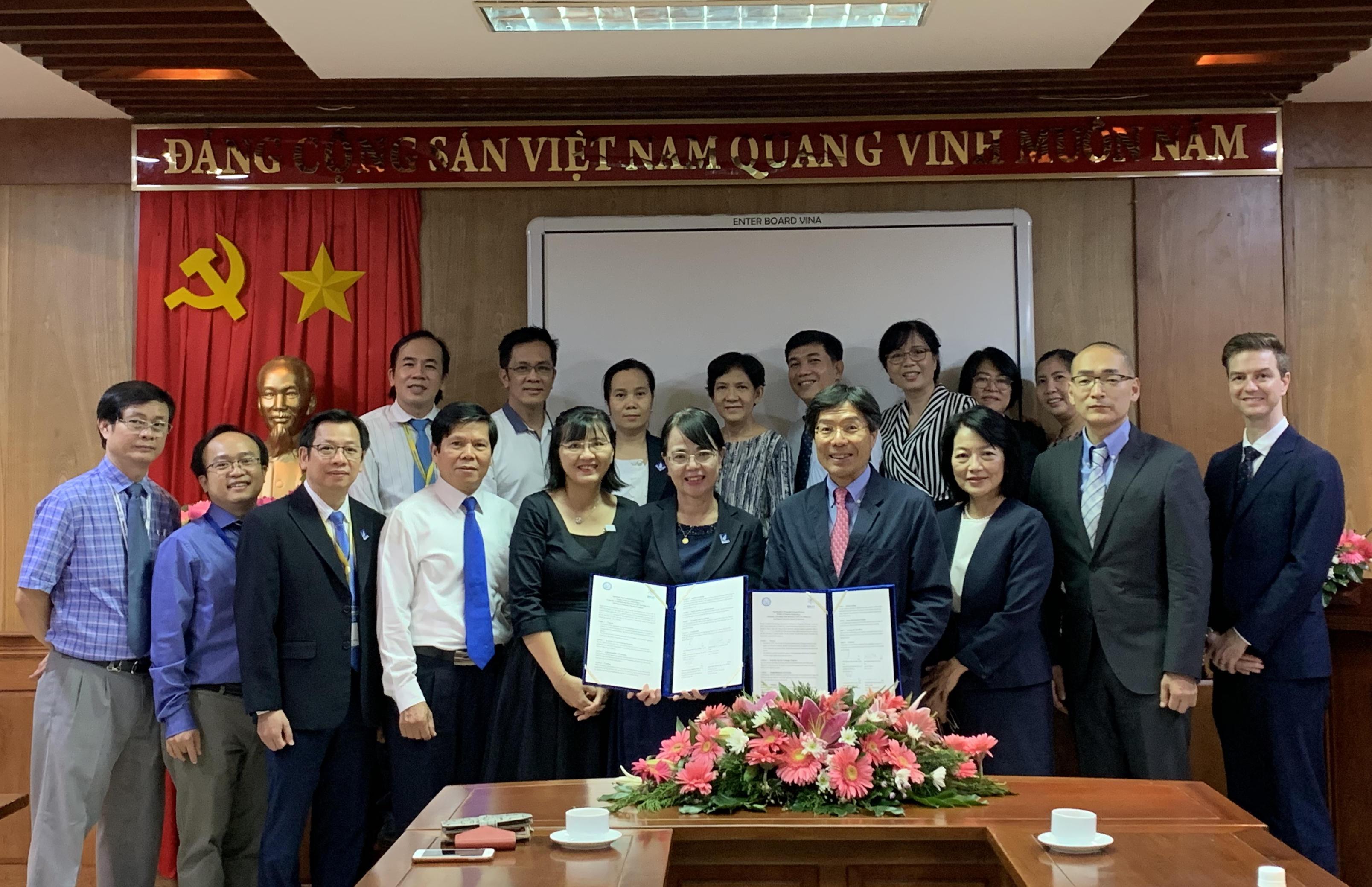 昭和大学歯学部がホーチミン市医科薬科大学歯学部と学部間協定を締結
