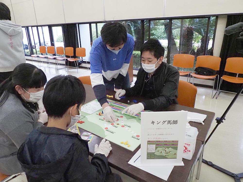 デジタルゲーム学科・ゲーム&メディア学科の学生が官学連携で四條畷の歴史や文化をテーマとしたゲームイベントを実施しました -- 大阪電気通信大学