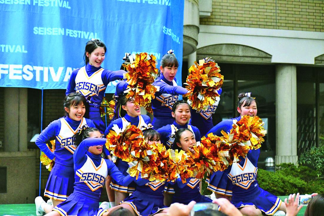 チアリーディング部とフラメンコクラブが五輪関連イベントに出演 -- 清泉女子大学
