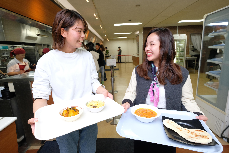 関西学院大学で「Meal for Refugees」始まる 「まろやかチキンカレーとナンのセット」など''難民の故郷の味''を生協の食堂で提供