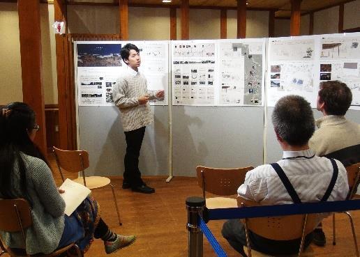 建築学部の卒業研究を高野町で発表 高野山の魅力を伝えるコンシェルジュサロンを提案