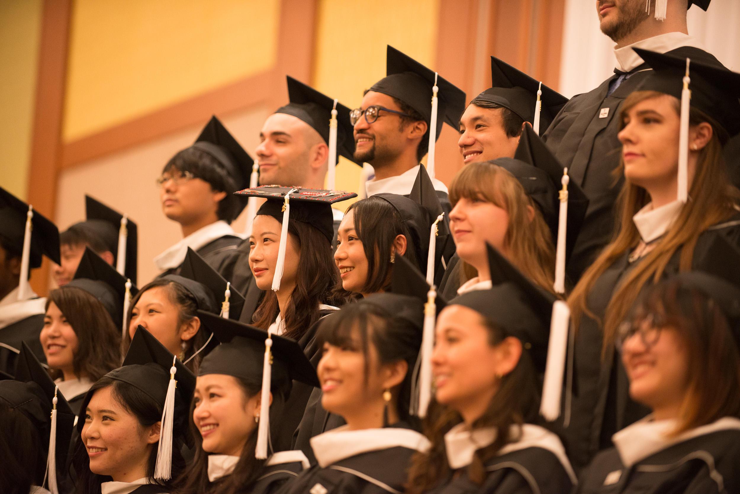 テンプル大学ジャパンキャンパス 2018年度卒業式 挙行 -- 過去最大数の卒業生がグローバル社会へ