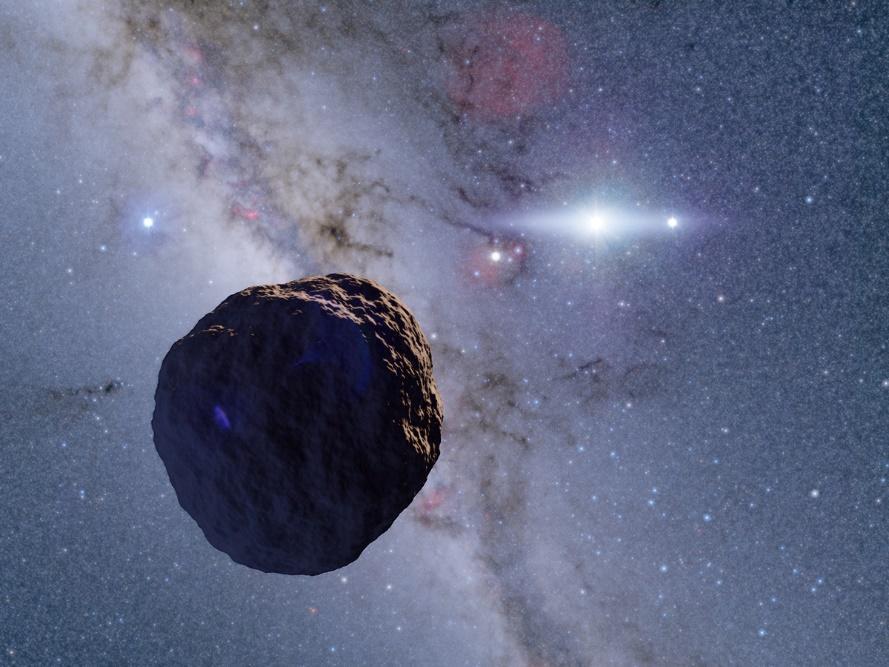 史上初、太陽系の果てに極めて小さな始原天体を発見 -- 京都産業大学