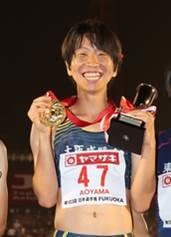 青山聖佳選手が日本代表選手として「第17回世界陸上競技選手権大会」に出場